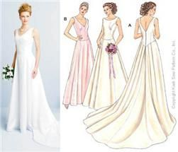Sewing Patterns For Wedding Dresses   Patterns   Pinterest   Sewing ...