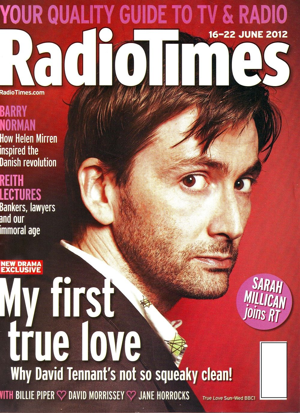 THROWBACK THURSDAY 'My First True Love' David Tennant