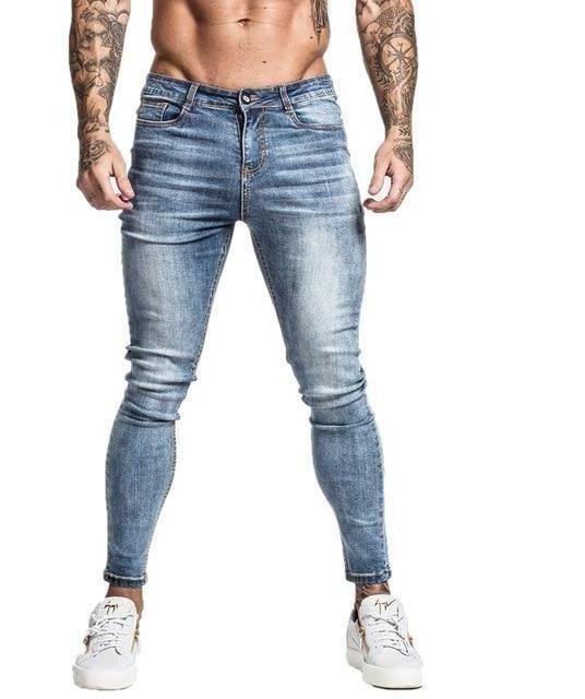 570edd031db5 Mens Skinny Jeans 2019 Super Skinny Jeans Men Non Ripped Stretch Denim -  chicmaxonline