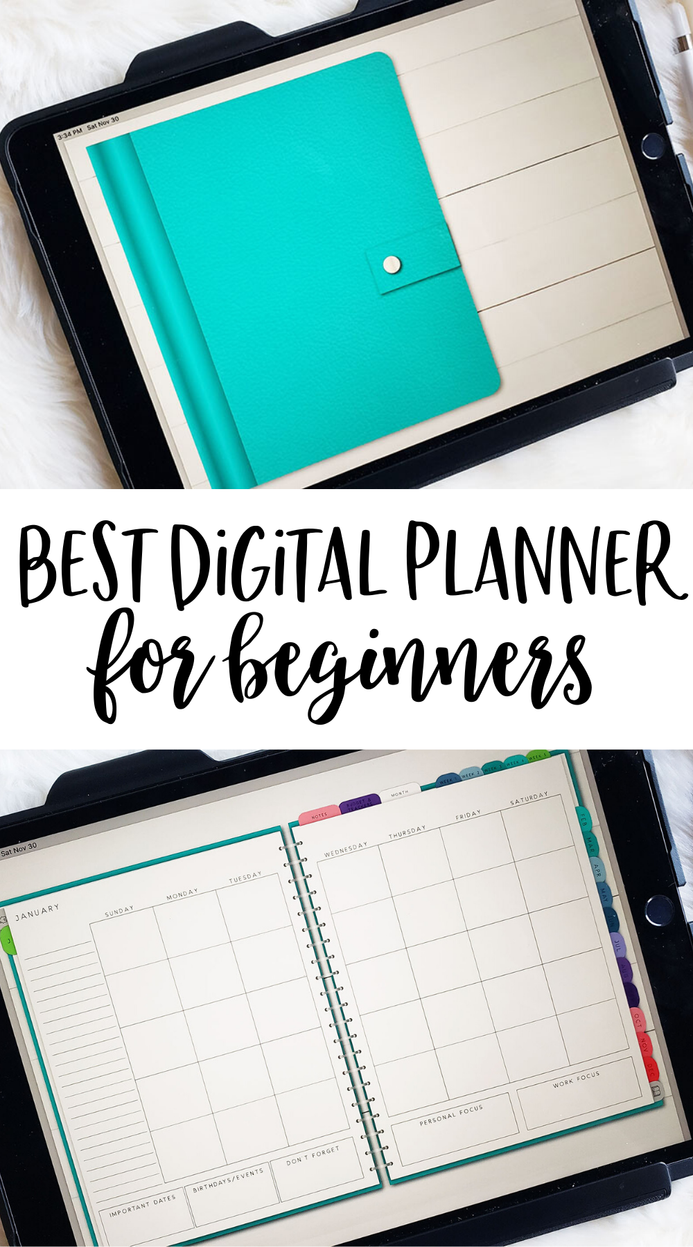 Best Digital Planner for Beginners | CCM Digitals Review - Planning Inspired