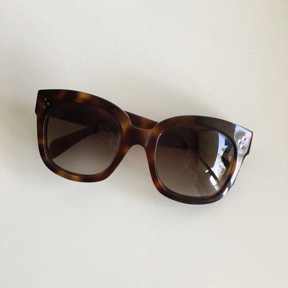 d403eaca894 Celine New Audrey Sunglasses Gorgeous Celine New Audrey Sunglasses in  Tortoise Shell. Comes with sunglasses case. CL 41805 Celine Accessories  Sunglasses