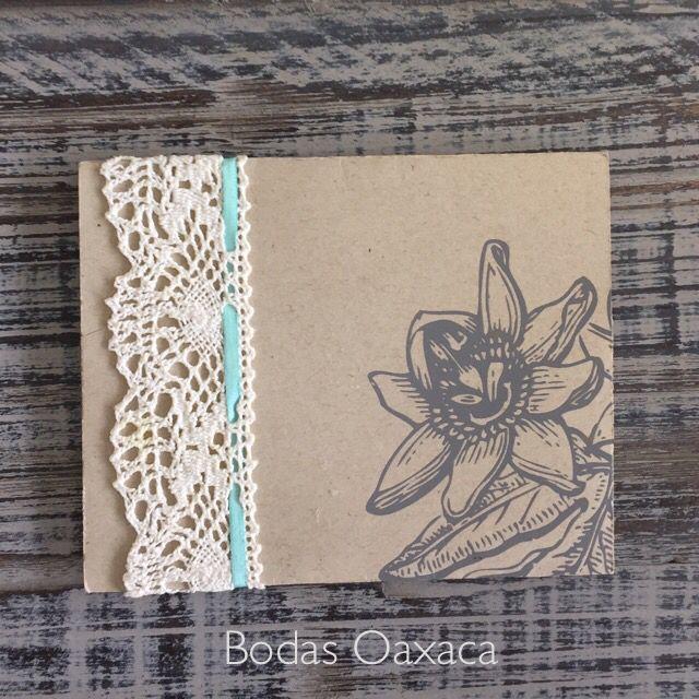 Diseño de invitación con encaje de bodas Oaxaca. Invitations in Oaxaca