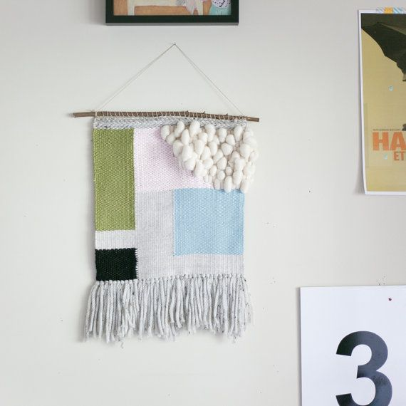 mona bone jakon / tapestry wall hanging with by habitstudio