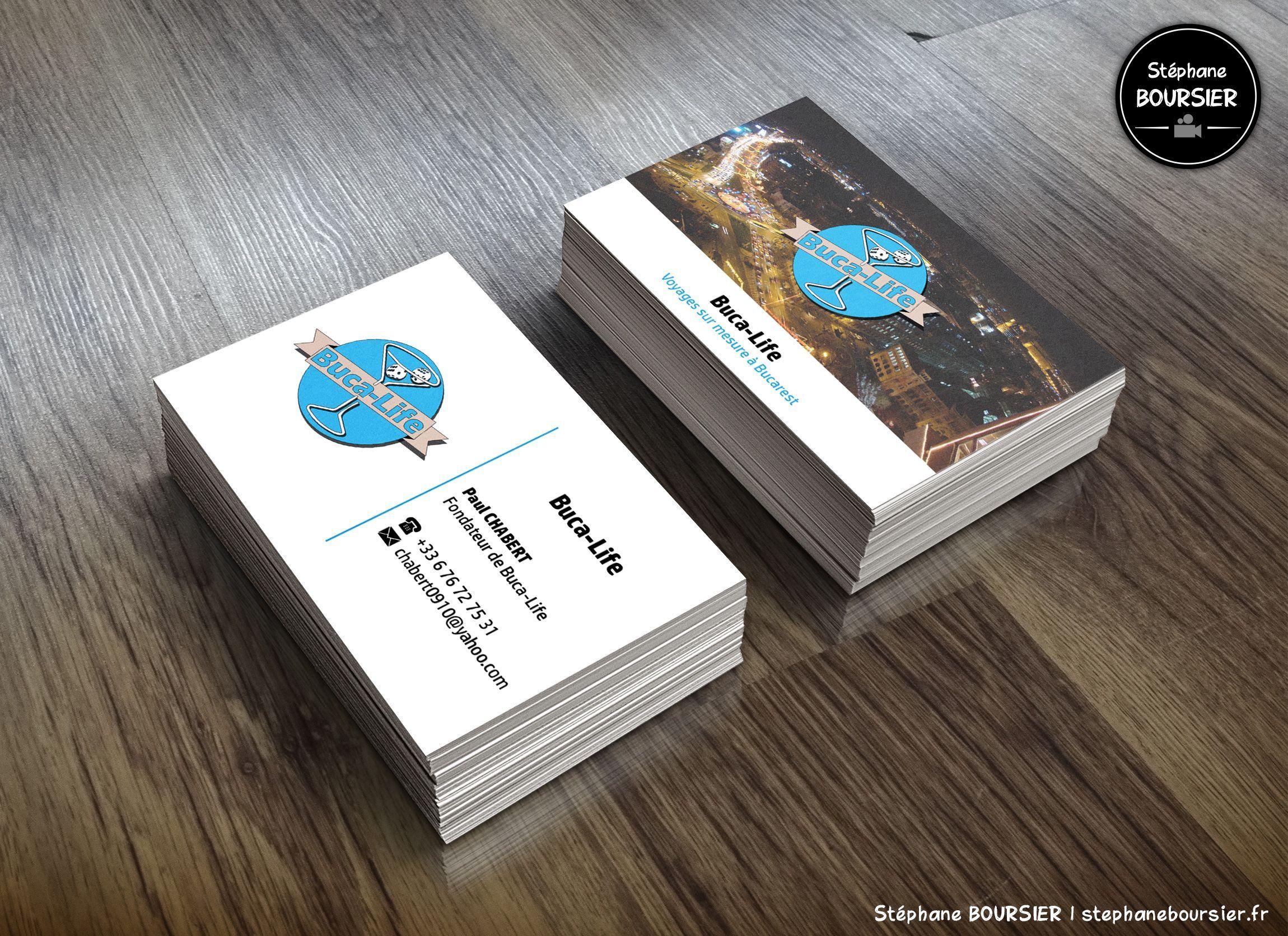 Cartes De Visite Pour Lagence Voyage