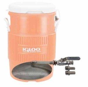 10 Gallon Cooler To Mash Tun Conversion Kit 68 Home Brewing Wine Making Kits False Bottom