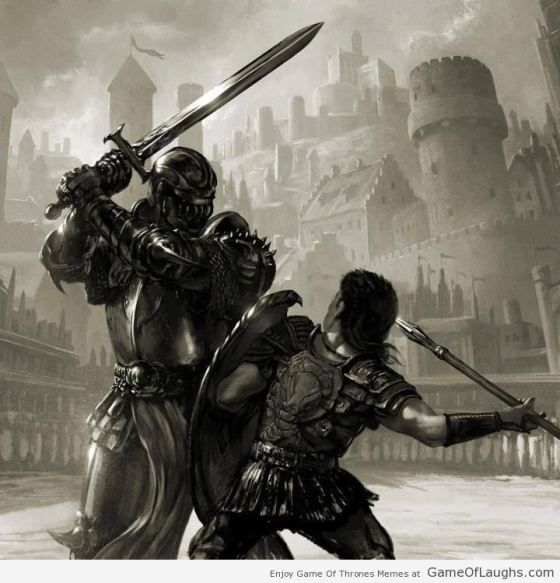 Warriors Fire And Ice Episode 3: The Epic Fight Between Oberyn Martell And The Mountain