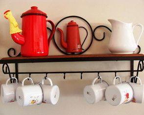 Porta xícaras - frete grátis