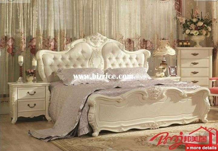 White Vintage Style Bedroom Furniture | Raya Ivory French Pics ...