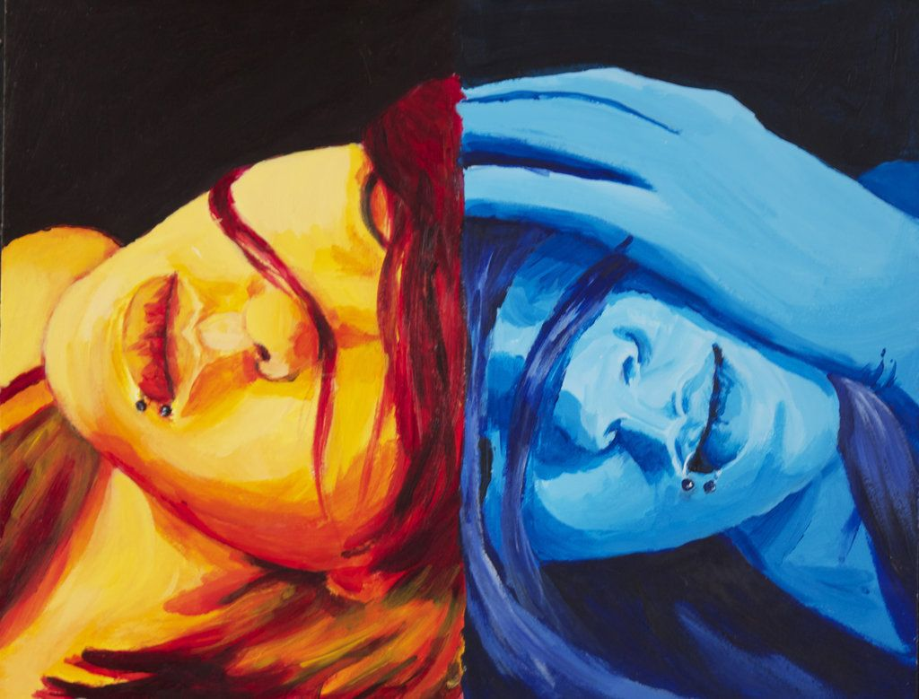 Cool Colors Warm Painting Google Search