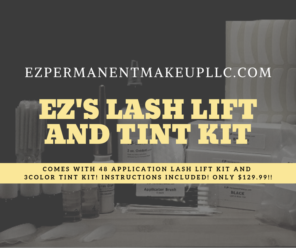 EZ's Lash Lift and Tint kit only 129.99! (Each Tint color