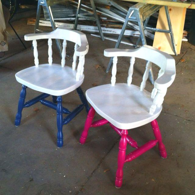 Repurposed chairs | Neighborhood Finds | Pinterest ...