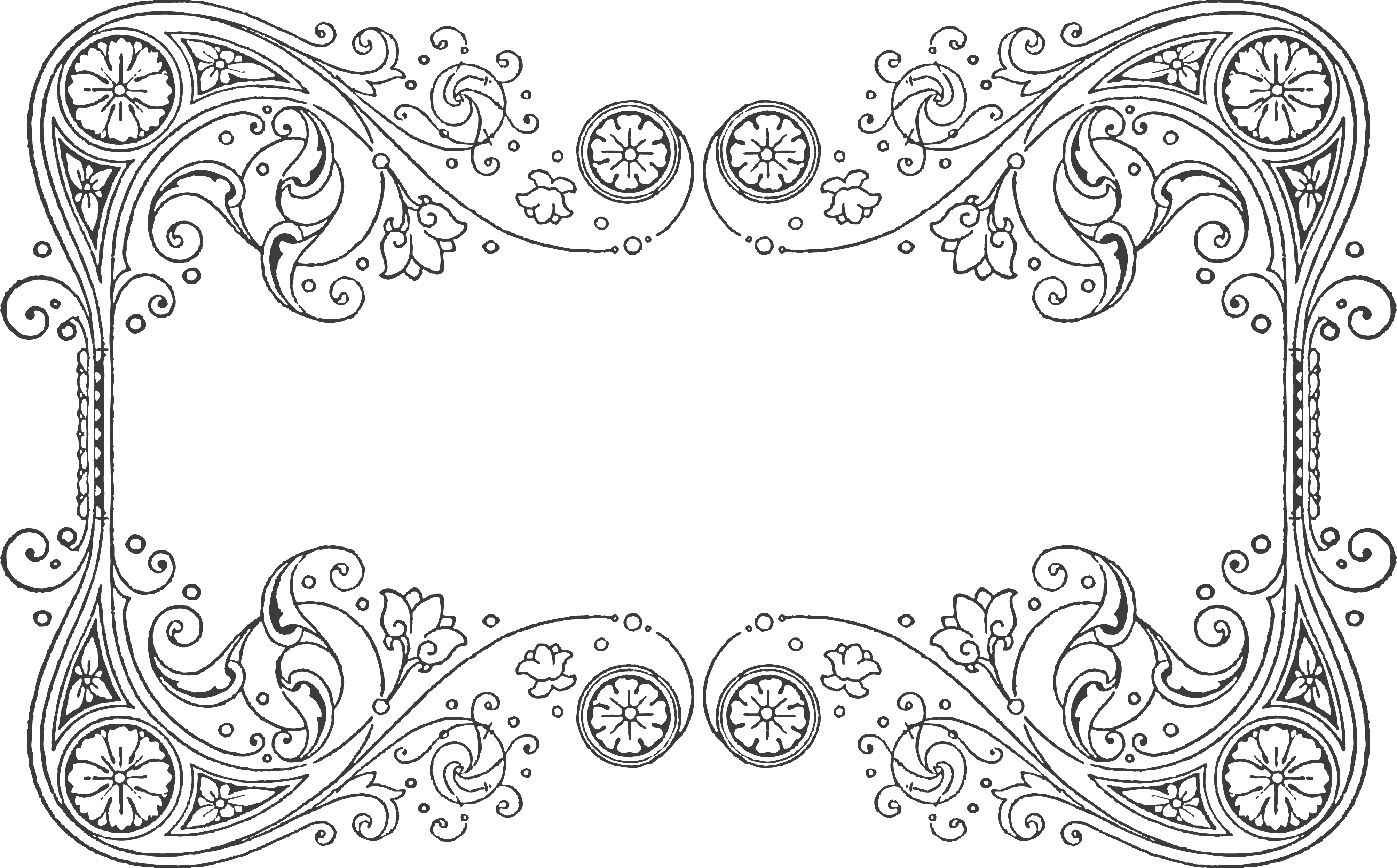 Quilling Design Pattern For A Frame Quilling