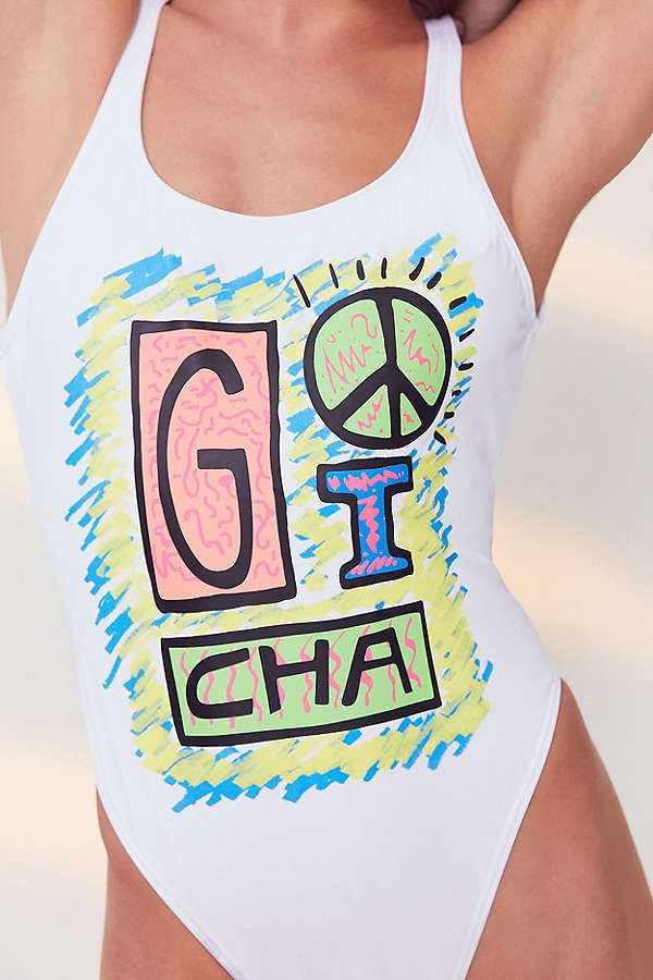 d3646d516fa Gotcha For UO Graphic One-Piece Swimsuit | SUMMER TIME | Swimsuits ...