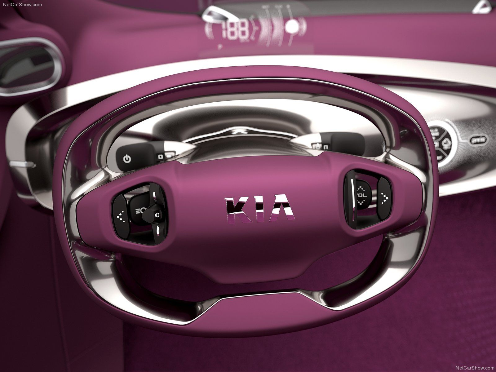 KIA Pop Concept | Steering Wheel | 2010