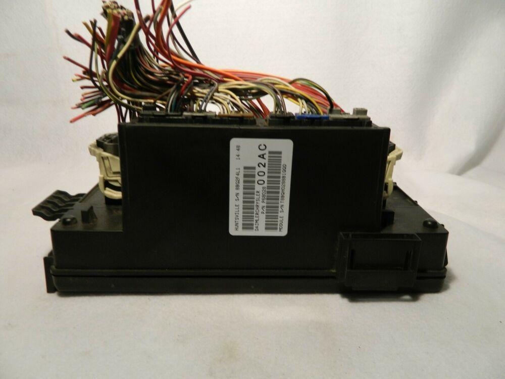 [DIAGRAM_38ZD]  2008-09 Dodge Ram P68028002AC Totally Integrated Power Module Fuse Box OEM  #Dodge | Fuse box, Dodge ram, Infiniti | Integrated Wiring Fuse Box |  | Pinterest