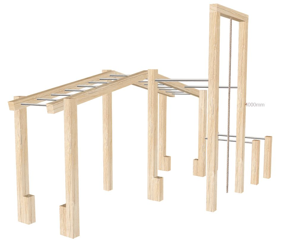 Wooden outdoor gym in gym backyard gym outdoor gym at