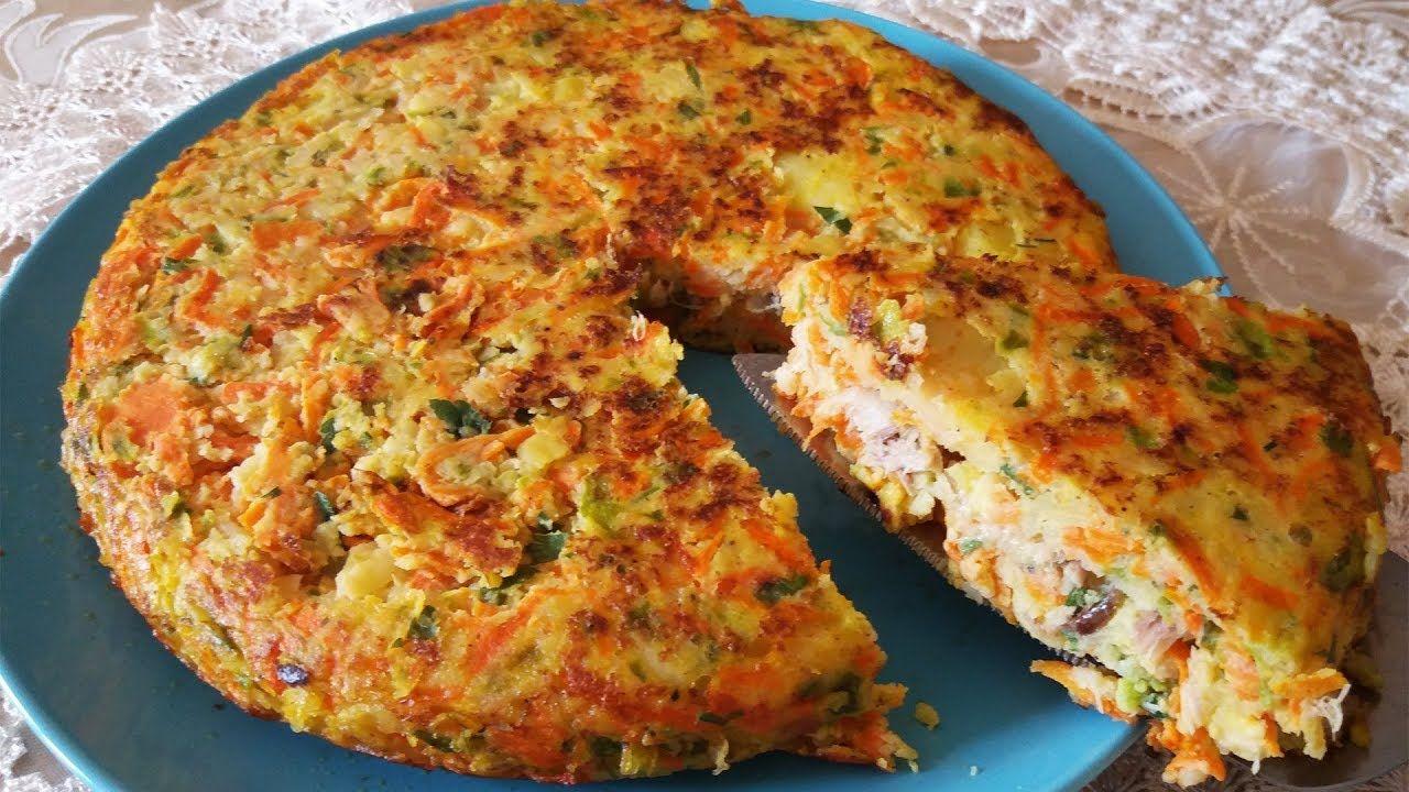 فطيرة بالخضر والبيض و التونة Food Breakfast Quiche