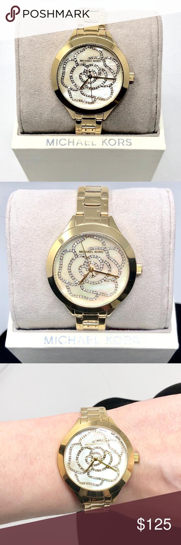 Michael Kors Gold Tone Watch NWT MK3992 This Michael Kors