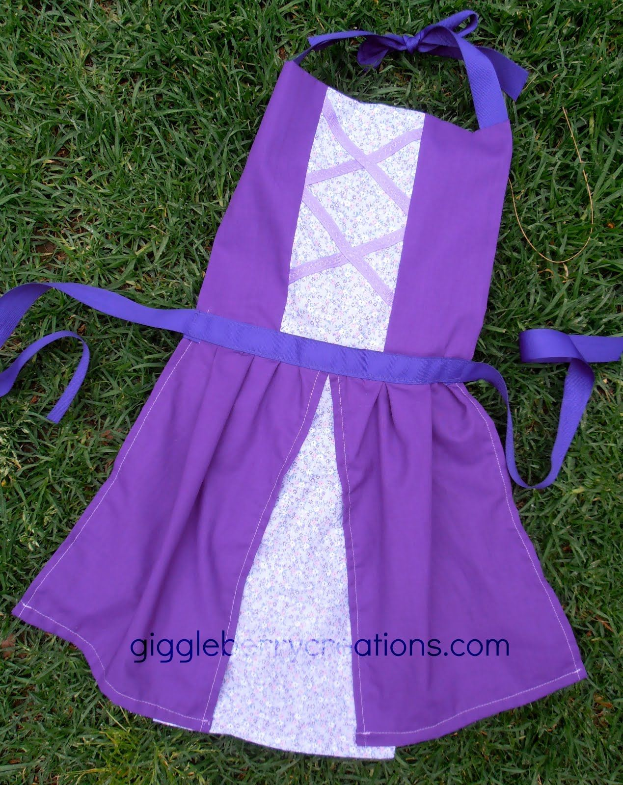 Giggleberry Creations!: Princess Dress-Up Aprons! | Outfits ...