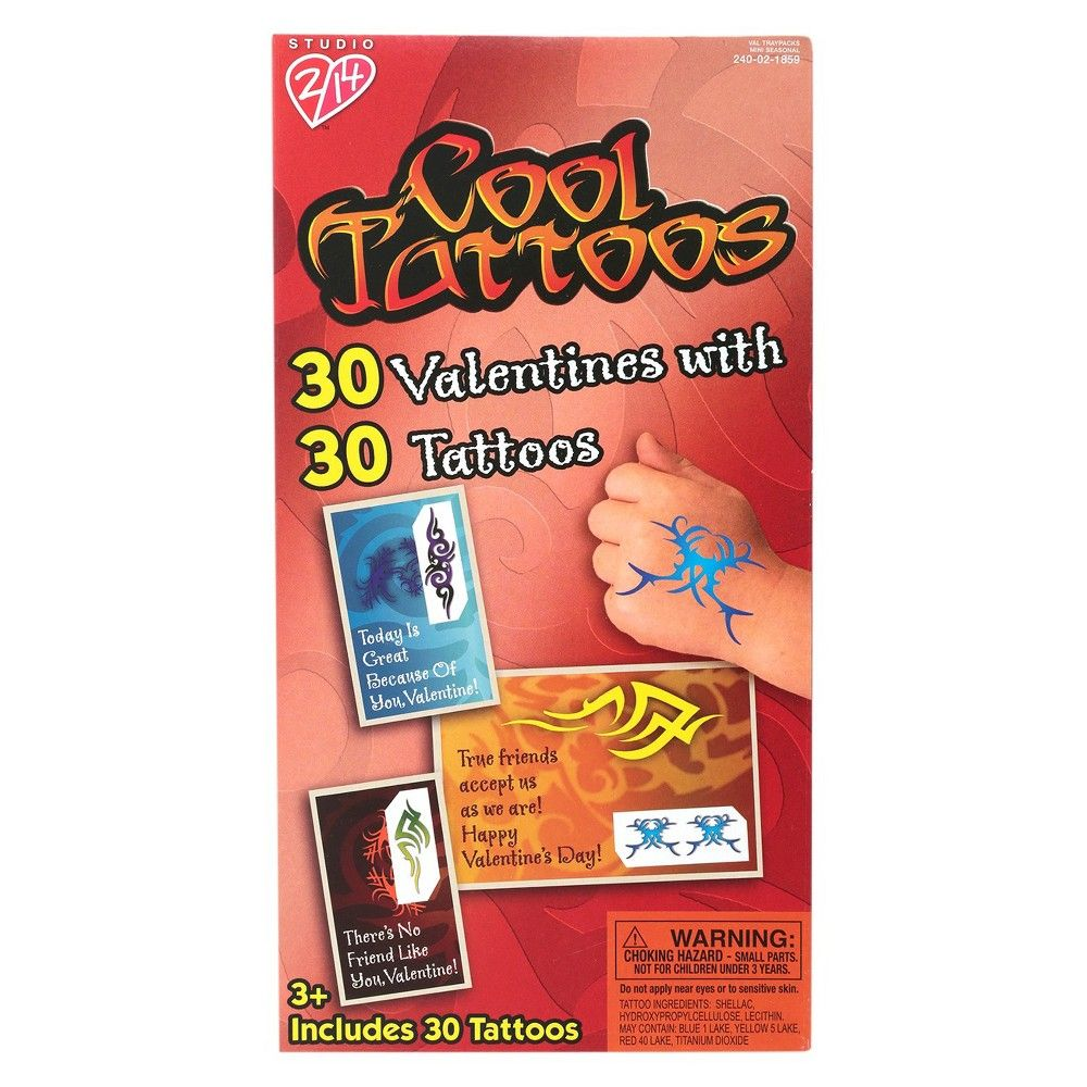 30ct Cool Tattoos Valentines with Tattoos,