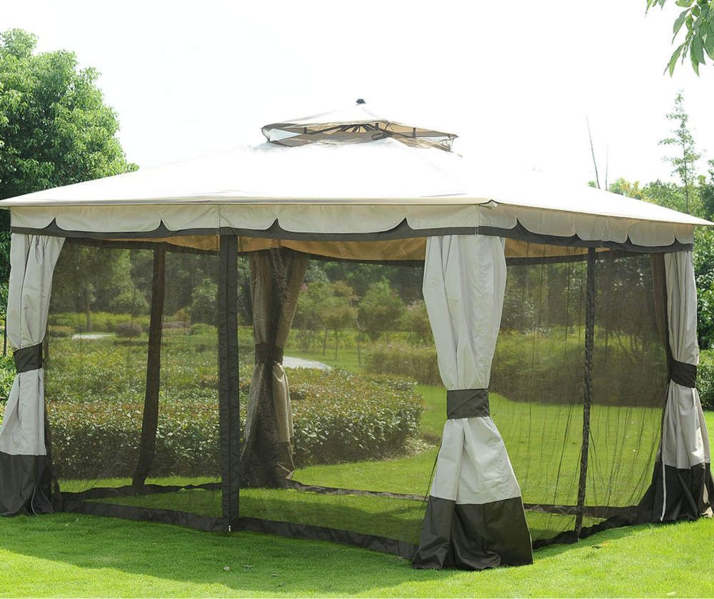 Lima Straight Top Gazebo 10 X 12 In 2020 Gazebo Patio Seating Patio