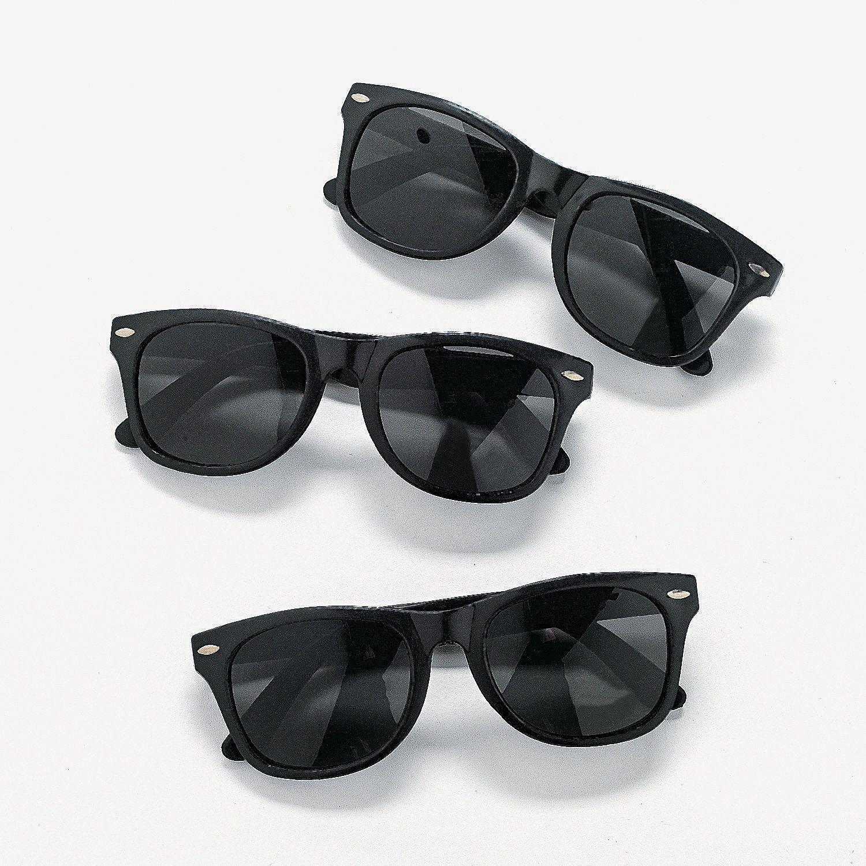 Wedding Favors Black Nomad Sunglasses