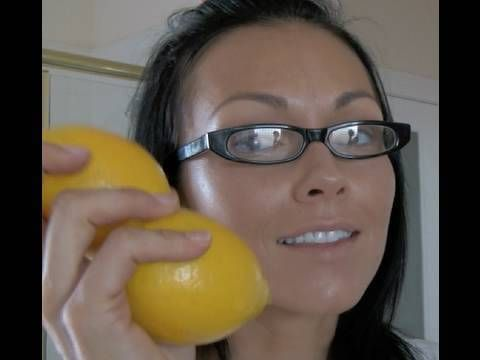 The Skin Doctor: LEMON TRICK  How to get rid of age spots, acne, freckles and more by Kandee Johnson - makeup artist.