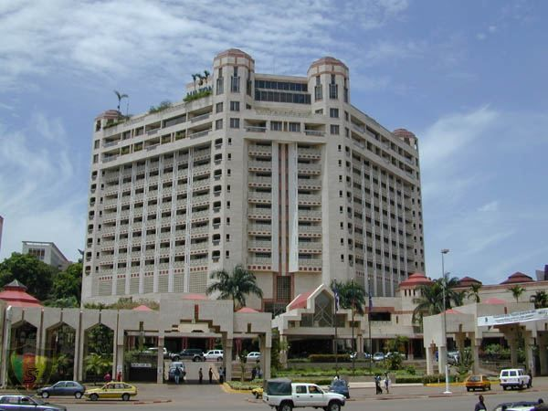 Hotel hilton yaounde cameroon this is where we will be for Design hotel douala