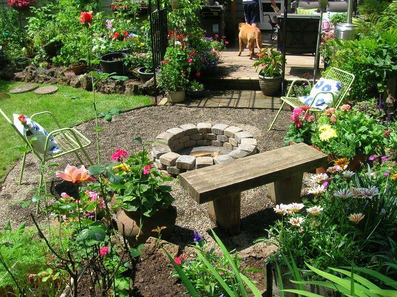 Resultado de imagen para terrazas y jardines sencillos - Jardines sencillos ...