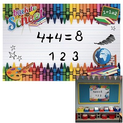 Personalized dry erase board with multi-colored dots