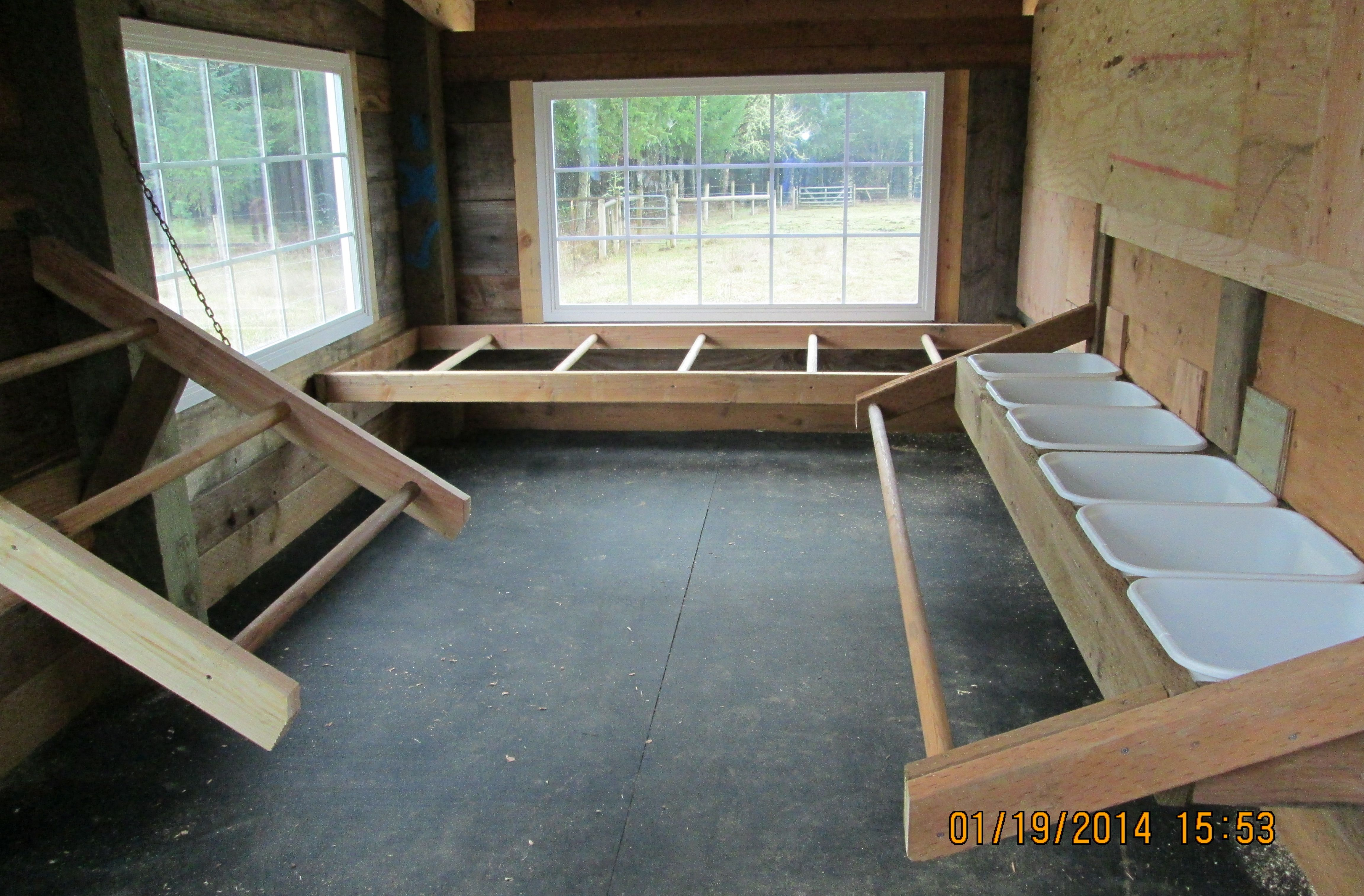 Inside Chicken House this is the inside of our new chicken house. | chicken coop tips