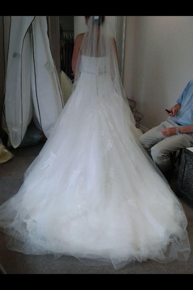 Enzoani Dabra in bridal boutique | My Wedding Dress! | Pinterest ...