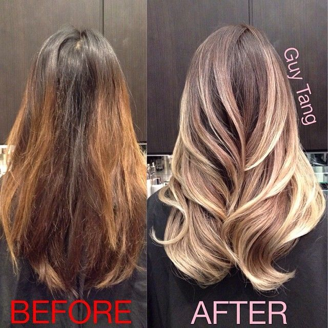 Oh my gawwd!! He's so skilled! Maybe a trip to LA after my graduation? --> Guy Tang Hair Artist