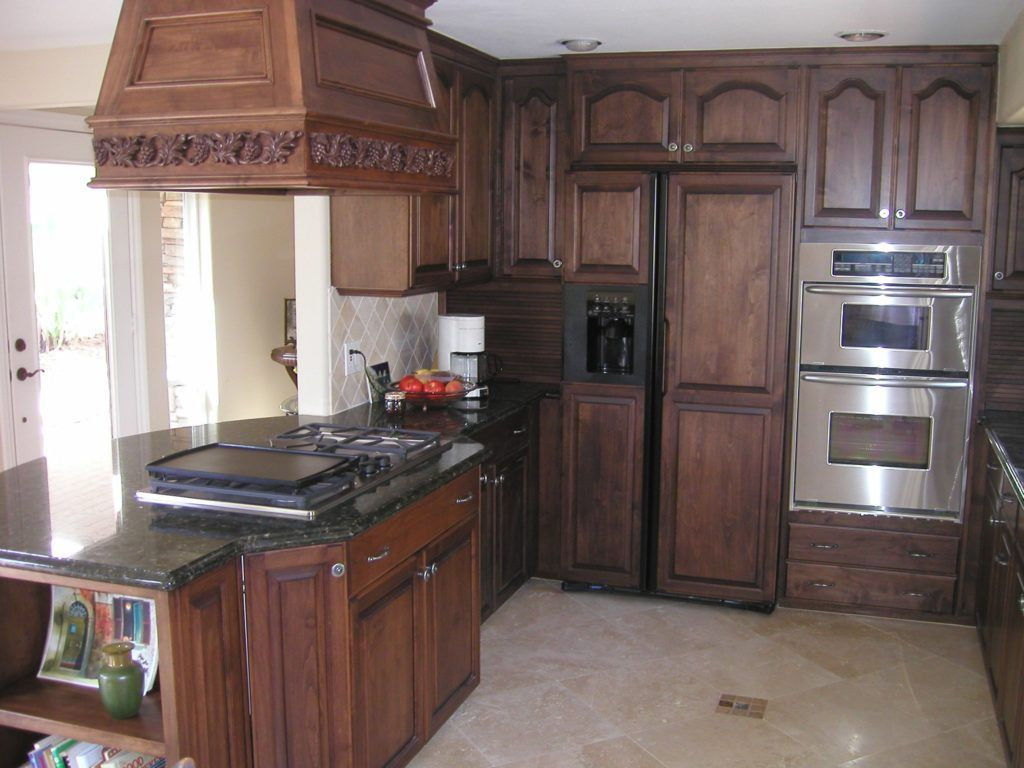 Staining Oak Kitchen Cabinets Dark Building Cool Things