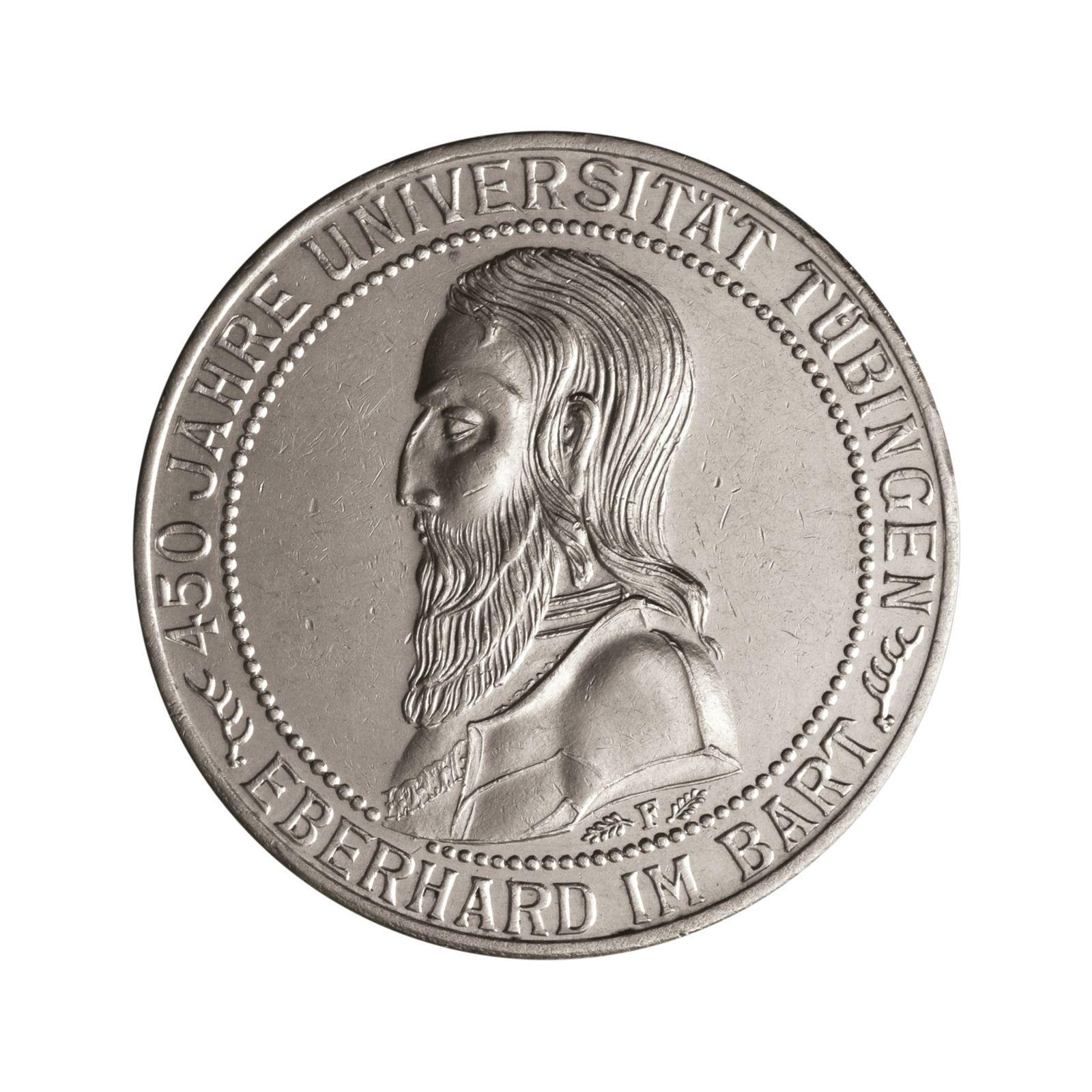 Details Zu Weimar Silbermünze 3 Reichsmark 450 Jahre Universität
