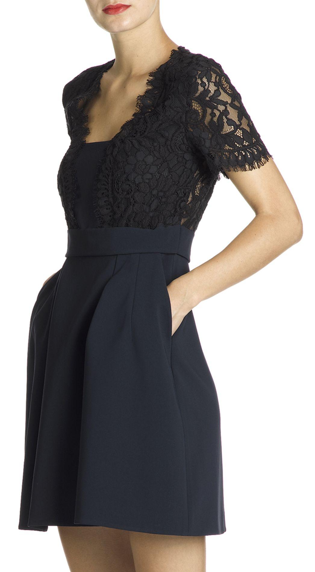 Petite robe noire claudie pierlot