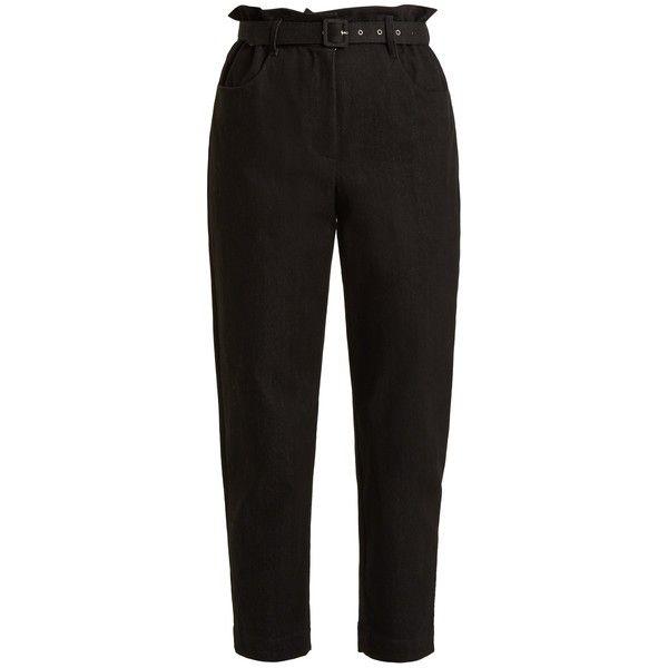 cropped flared trousers Isa Arfen 8sLzjWV3