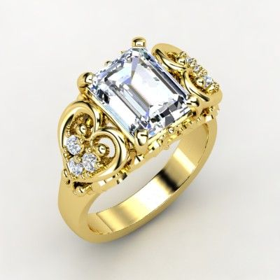 Most Expensive Diamond Engagement Rings Wedding On Yellow Gold