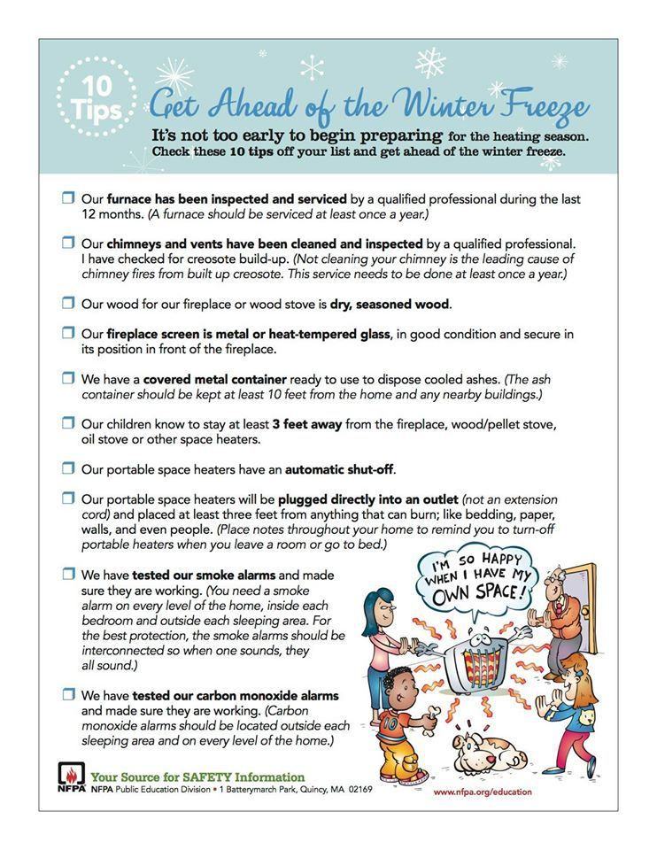 10 Tips To Prepare For A Winter Freeze 10 Things Preparation Tips