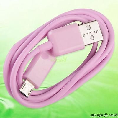 pink 3m micro usb to usb charger data sync cable for samsung galaxy s2/s3/s4 D2 https://t.co/RuYrFZJww1 https://t.co/RmX4dxb2MJ