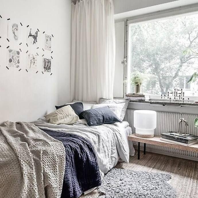 16 Classy Rustic Bedroom Designs: 51+ Scandinavian Stylish Bedroom Decor Ideas