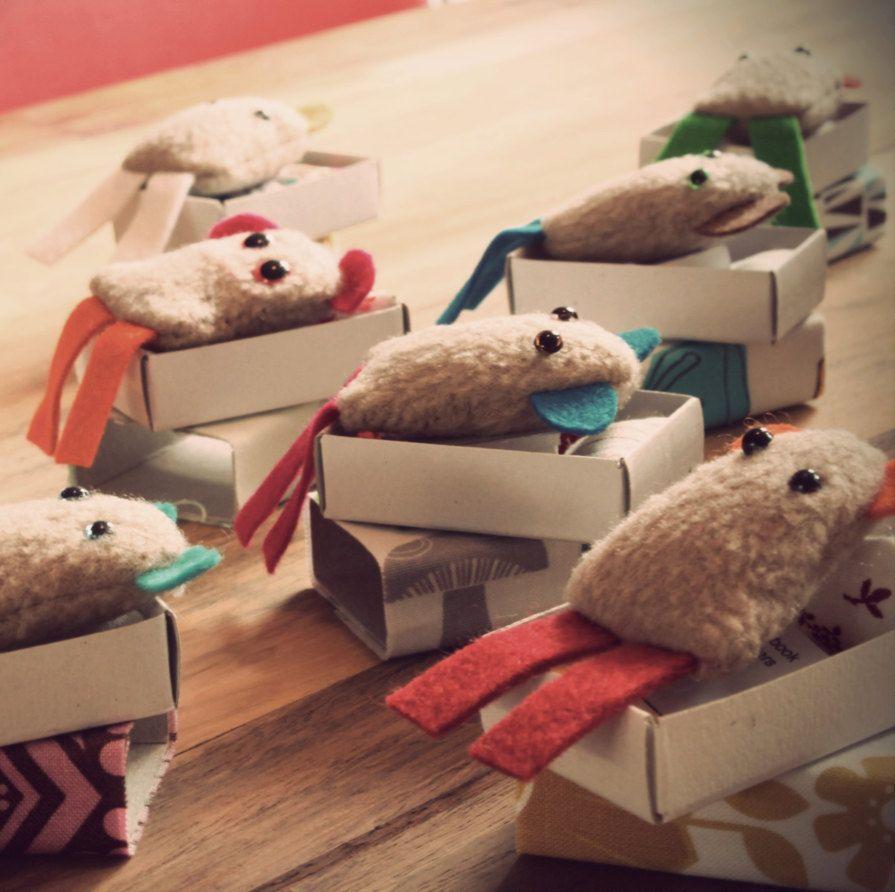 Matchbox+muffles+++Cute+monsters+in+a+matchbox+door+handmadebesties,+$7,00