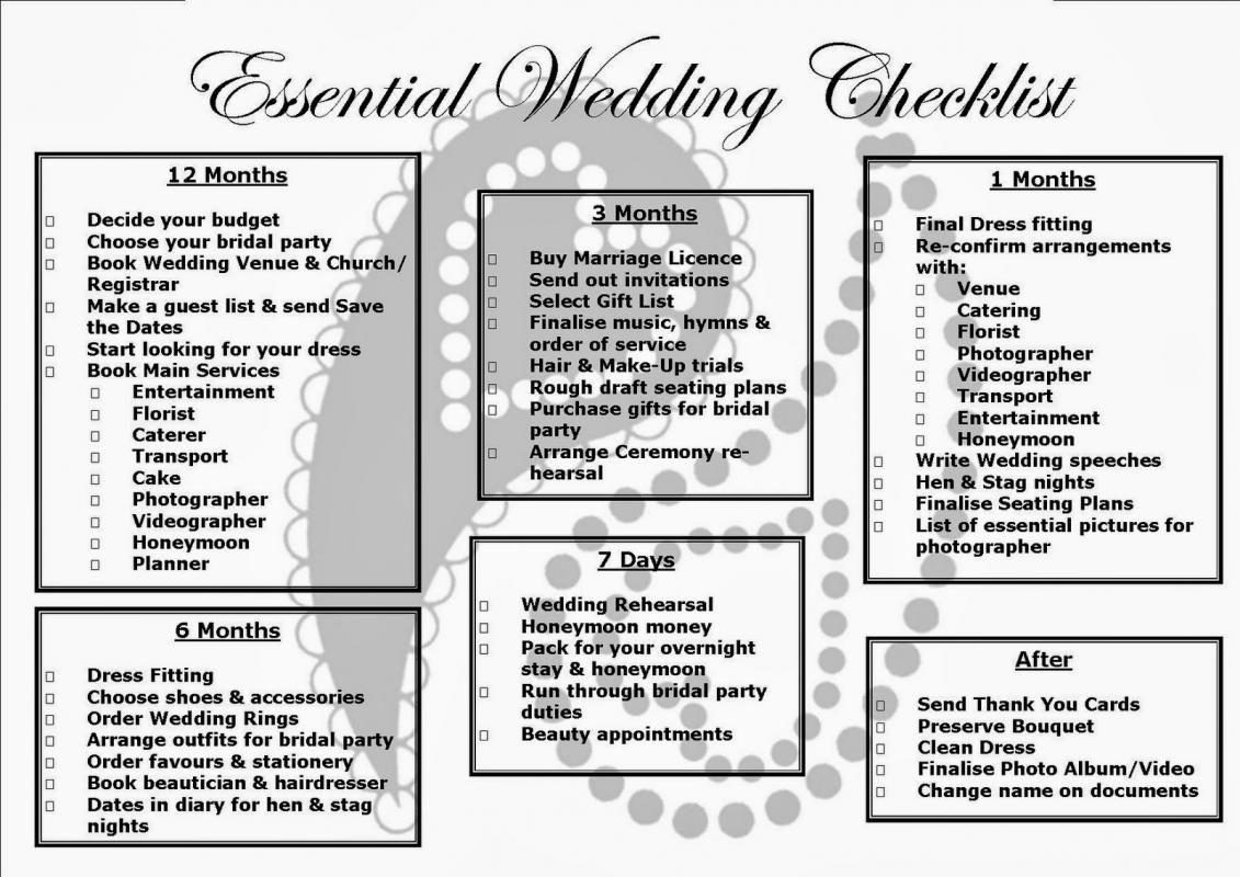 simple wedding checklist template pinterest wedding wedding