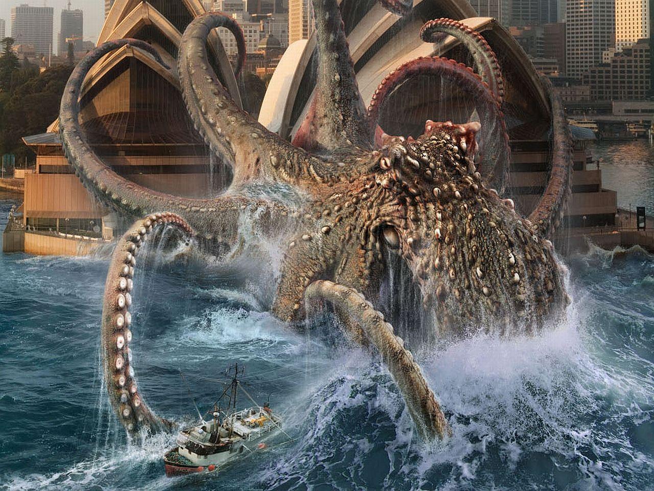 Kraken Computer Wallpapers Desktop Backgrounds 1280x960 Id 183321 Kraken Sea Monsters Kraken Monster