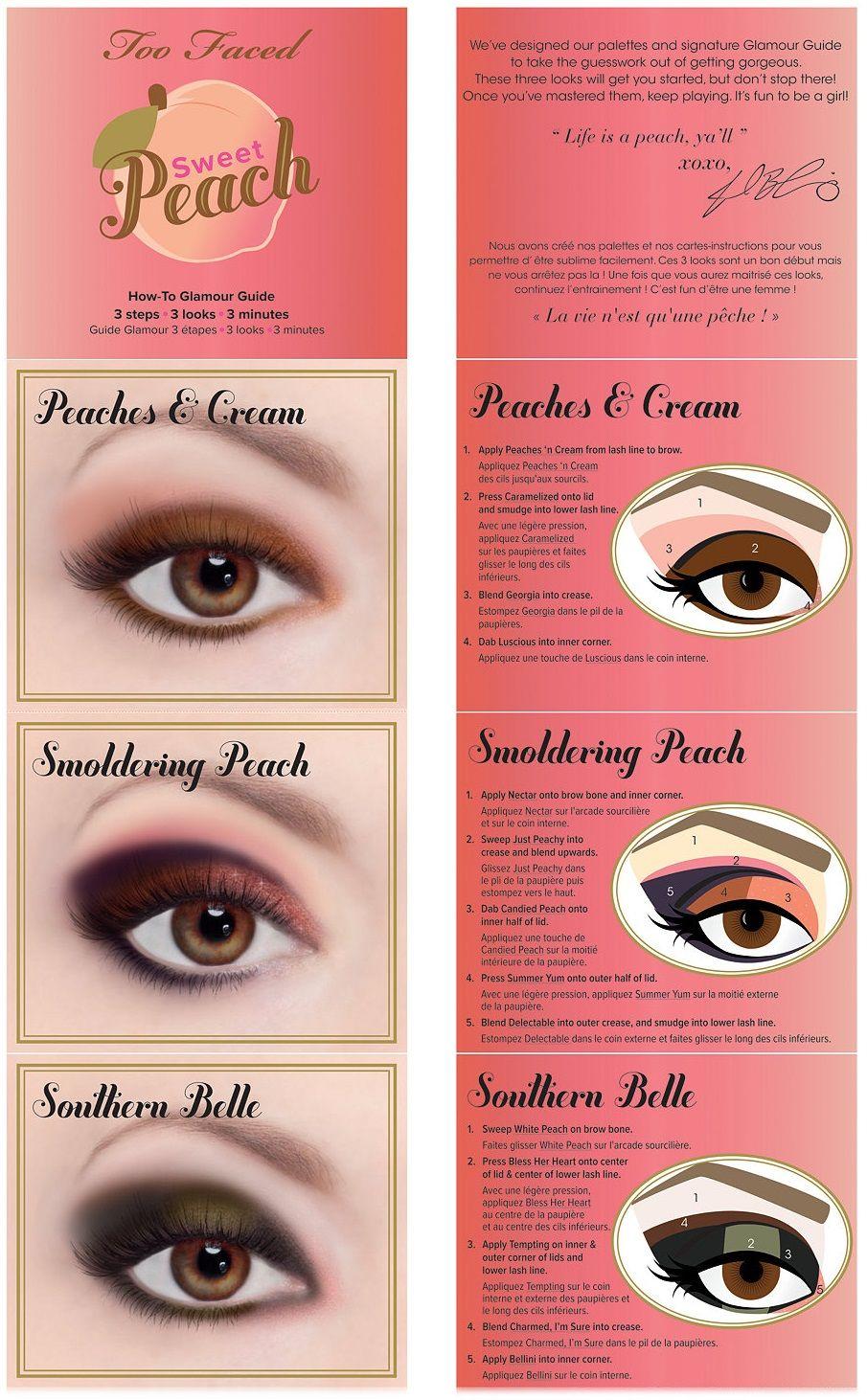 Alvorlig Too Faced Sweet Peach Eye Shadow Palette | Beauty {Eye of the JI54
