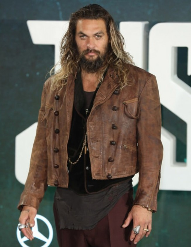 Arthur Curry Aquaman Brown Jacket in 2020 Distressed