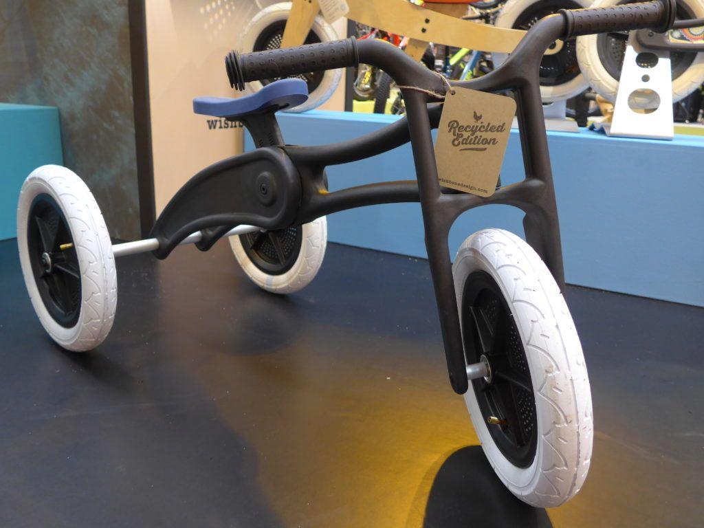 Wishbone Recycled 3 In 1 Balance Bike And Trike At 2016 Cycle Show