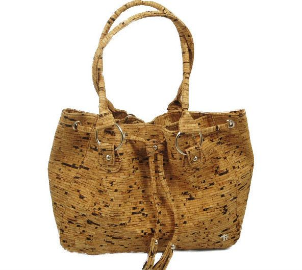 San Remo Cork Purse - Cortizza. Vegan, sustainable, beautiful! Available in 2 different cork patterns.