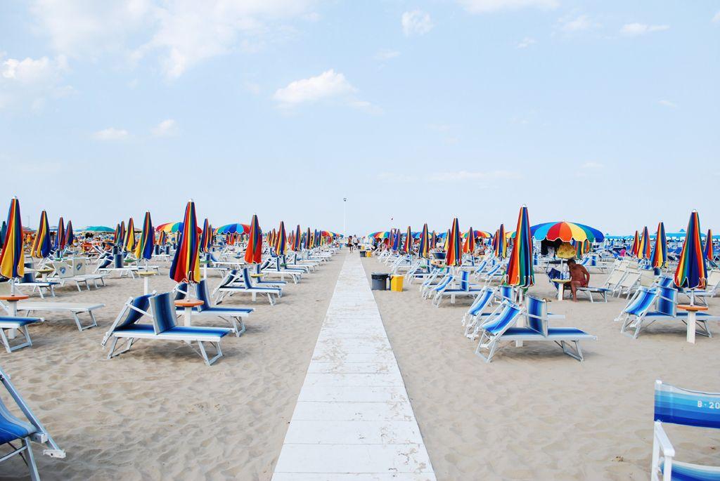Rimini beach, www.hotelpolo.it Spiaggia