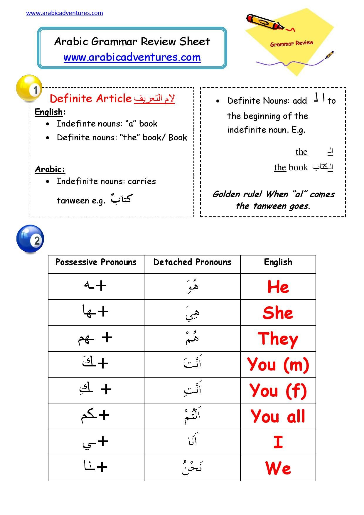 Free Pdf At Www Arabicadventures Com Arabic Verbs Learn Arabic Language Arabic Language [ 1754 x 1240 Pixel ]